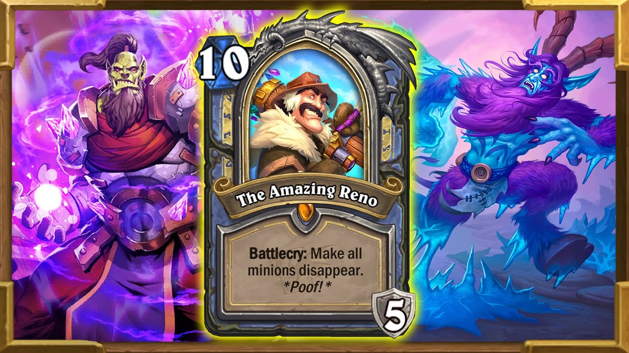 The Amazing Reno Is Not A Joke! Highlander Dragons Mage Pt.2 | Ashes of Outland | Hearthstone