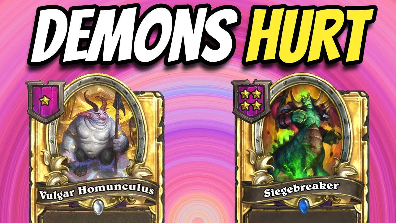The Golden Vulgar Homunculus - Hearthstone Battlegrounds