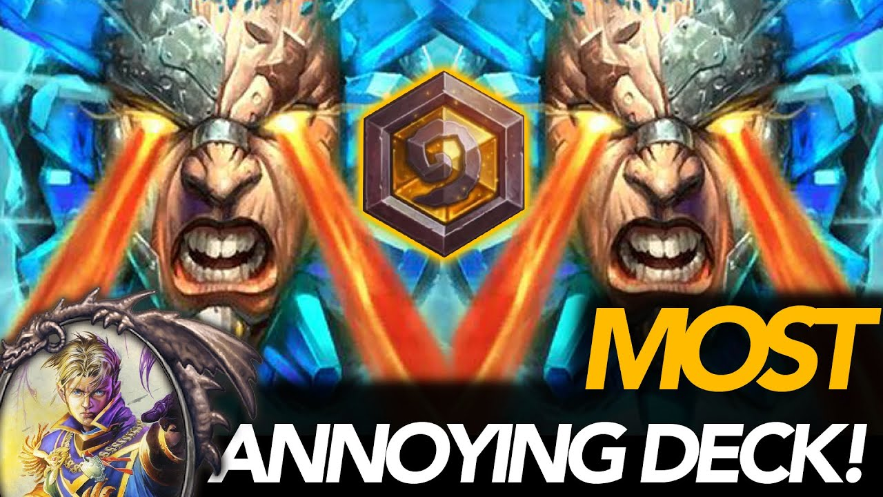 The Most Annoying Deck! | Thief Priest | Ashes Of Outland | Hearthstone