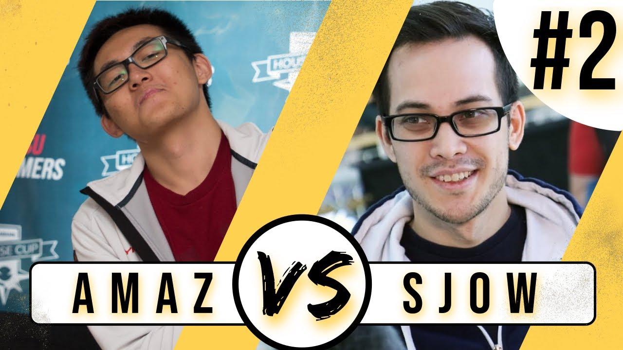 The Ultimate Sjowdown - Amaz vs Sjow - Game #2 - Hearthstone Battlegrounds