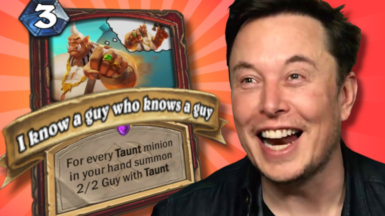 Top Custom Cards of the Week #70 - I Know A Guy Meme-a-Ton Special | Card Review | Hearthstone