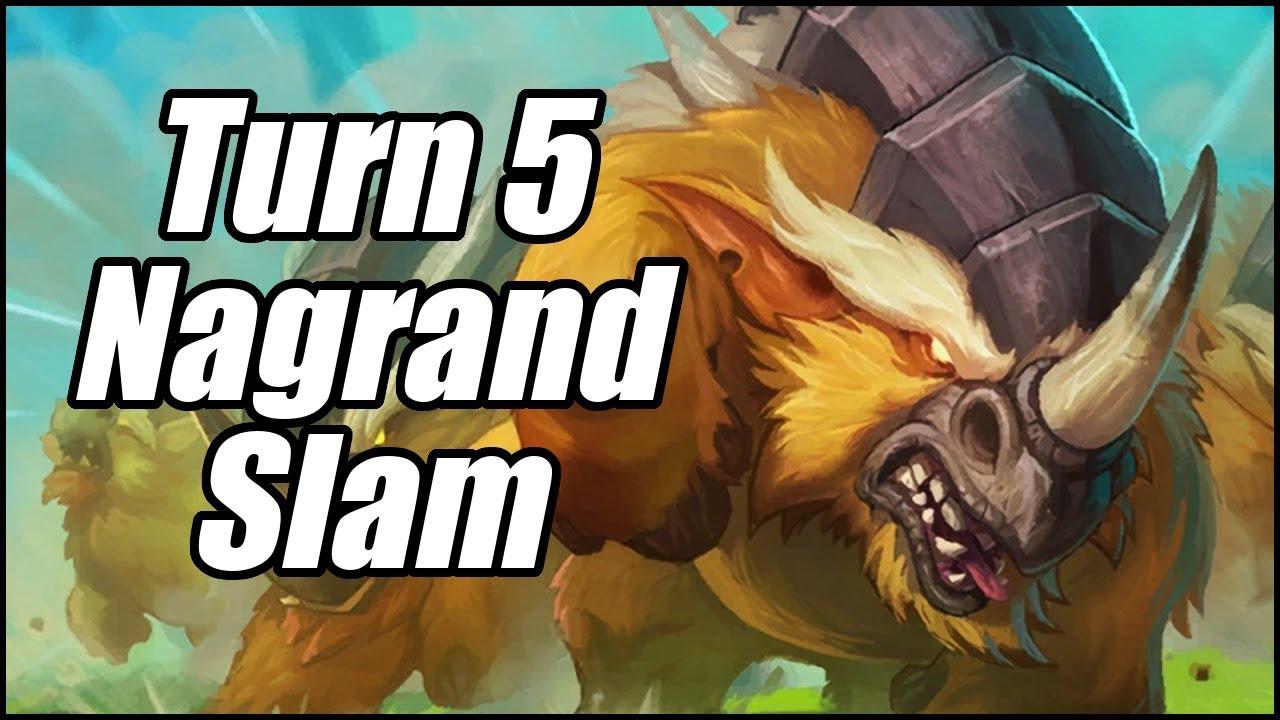 Turn 5 Nagrand Slam   Quest Hunter   Hearthstone