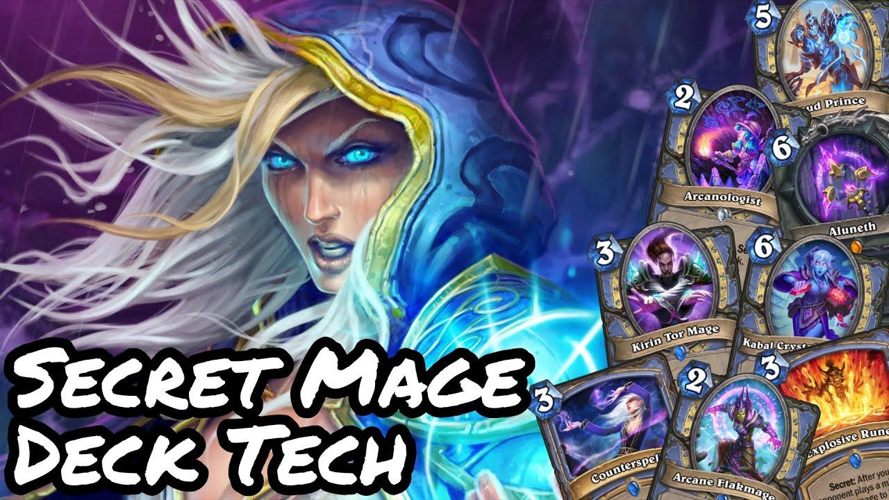 Wild Secret Mage Deck Tech 2020 Hearthstone