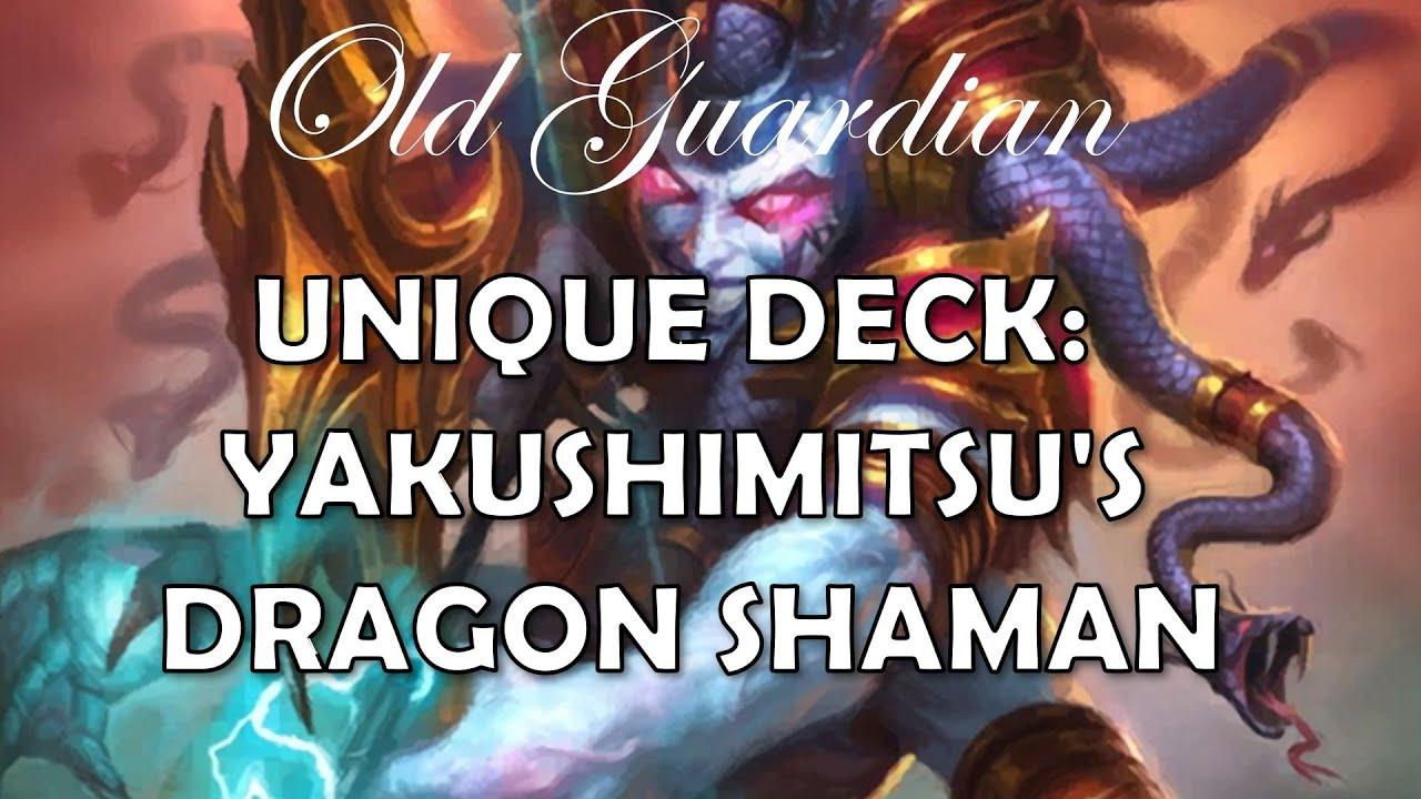 Yakushimitsu's Dragon Overload Shaman (Hearthstone Ashes of Outland deck)