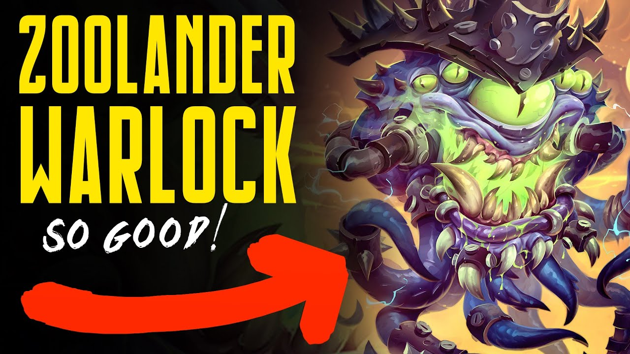 ZOOLANDER WARLOCK IS BACK!! - Ashes of Outland - Hearthstone